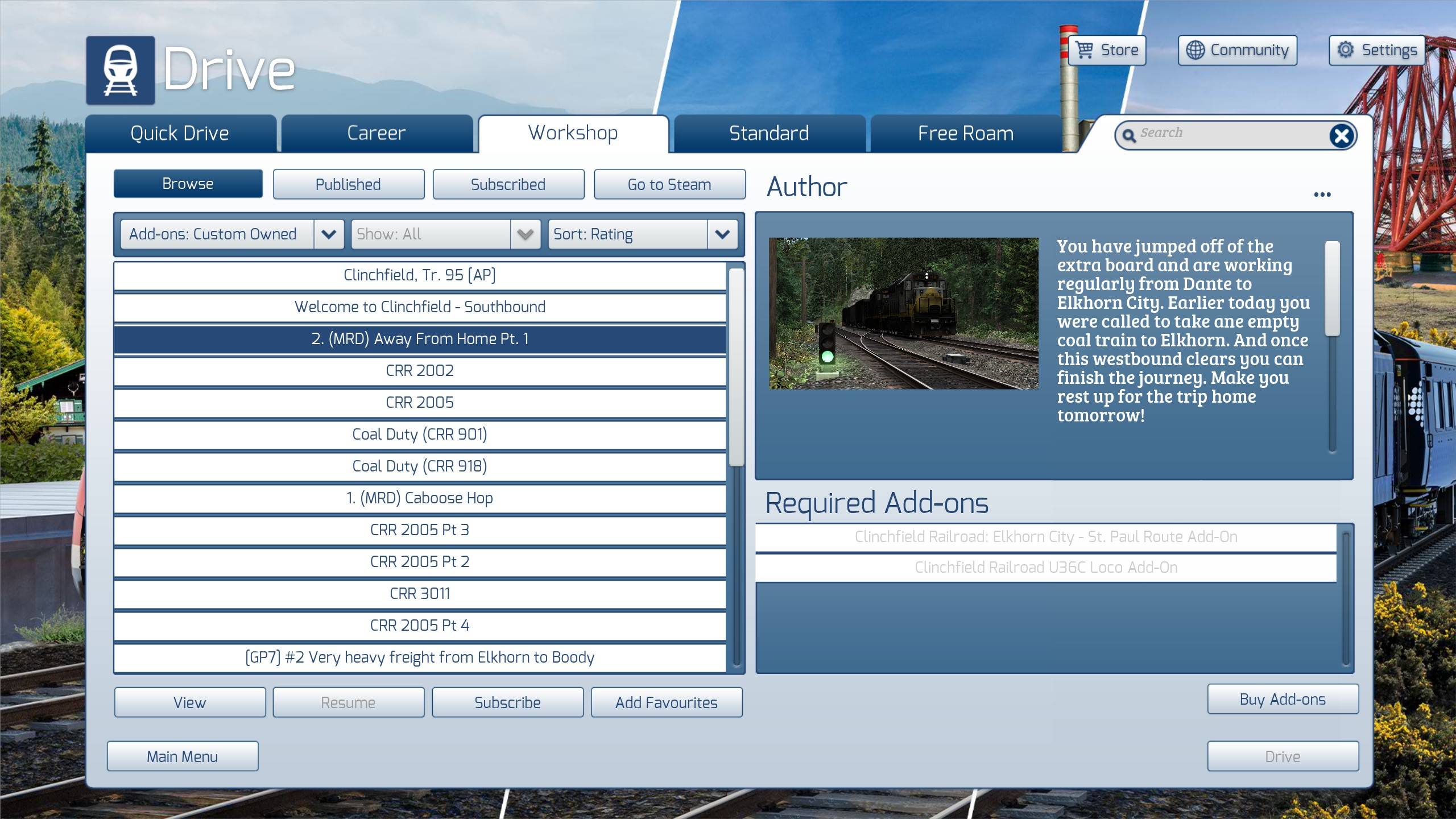Train Simulator 2021 - Steam Workshop