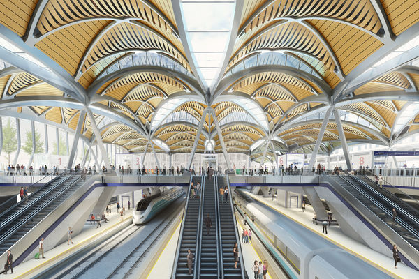 Visuals-for-the-proposed-HS2-EustonStations