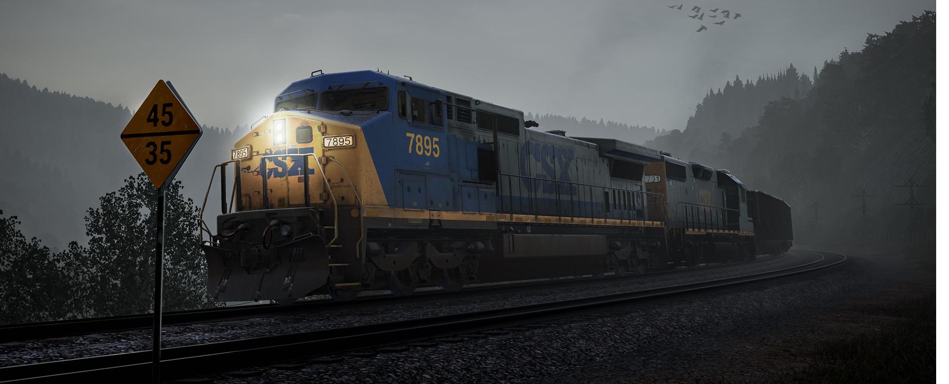 CSX C40-8W