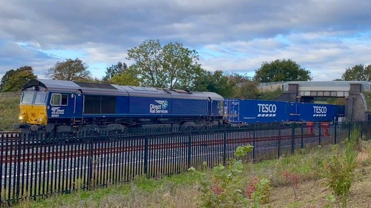 Tesco Express Doncaster iPort Class 66