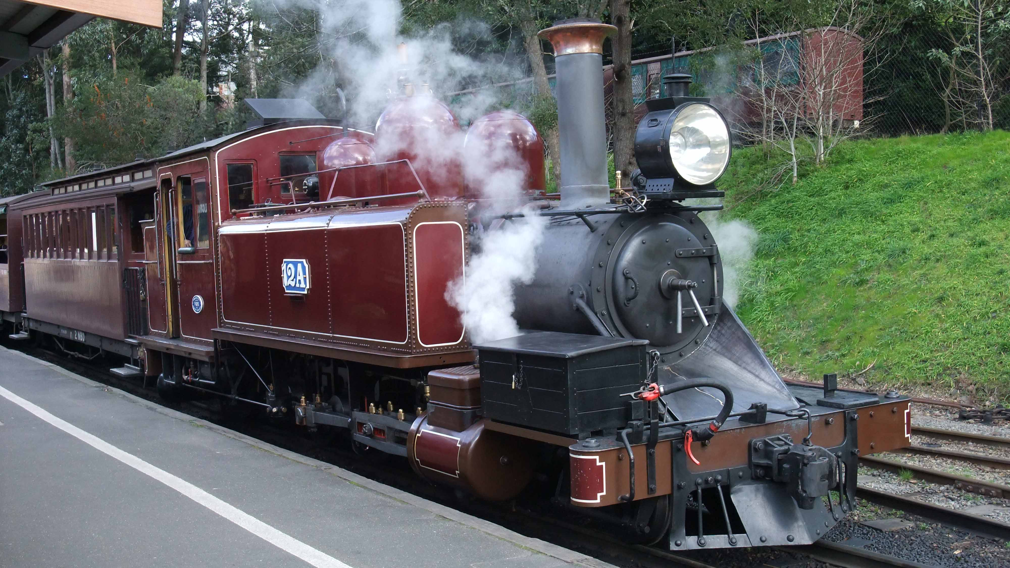 Puffing_Billy_Loco_12A_at_Belgrave