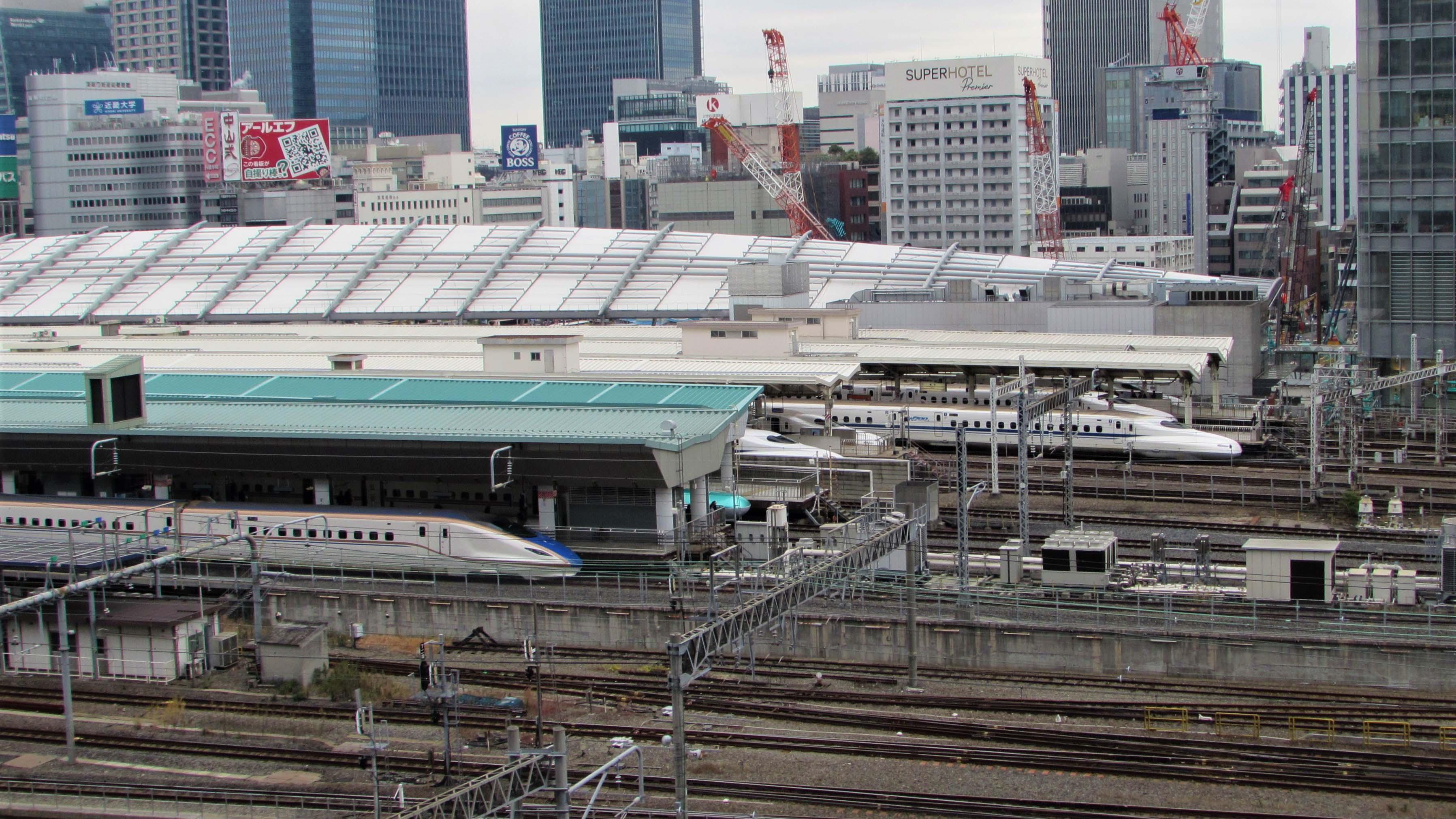 W7 N700 Shinkansen Tokyo Station