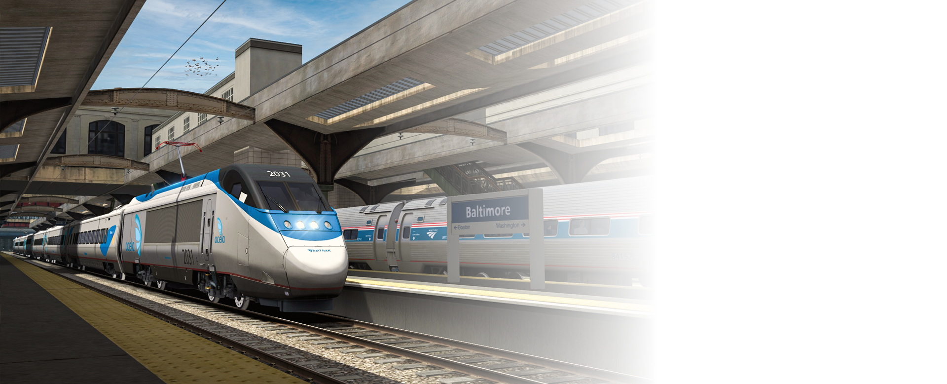 Northeast Corridor: Washington DC - Baltimore
