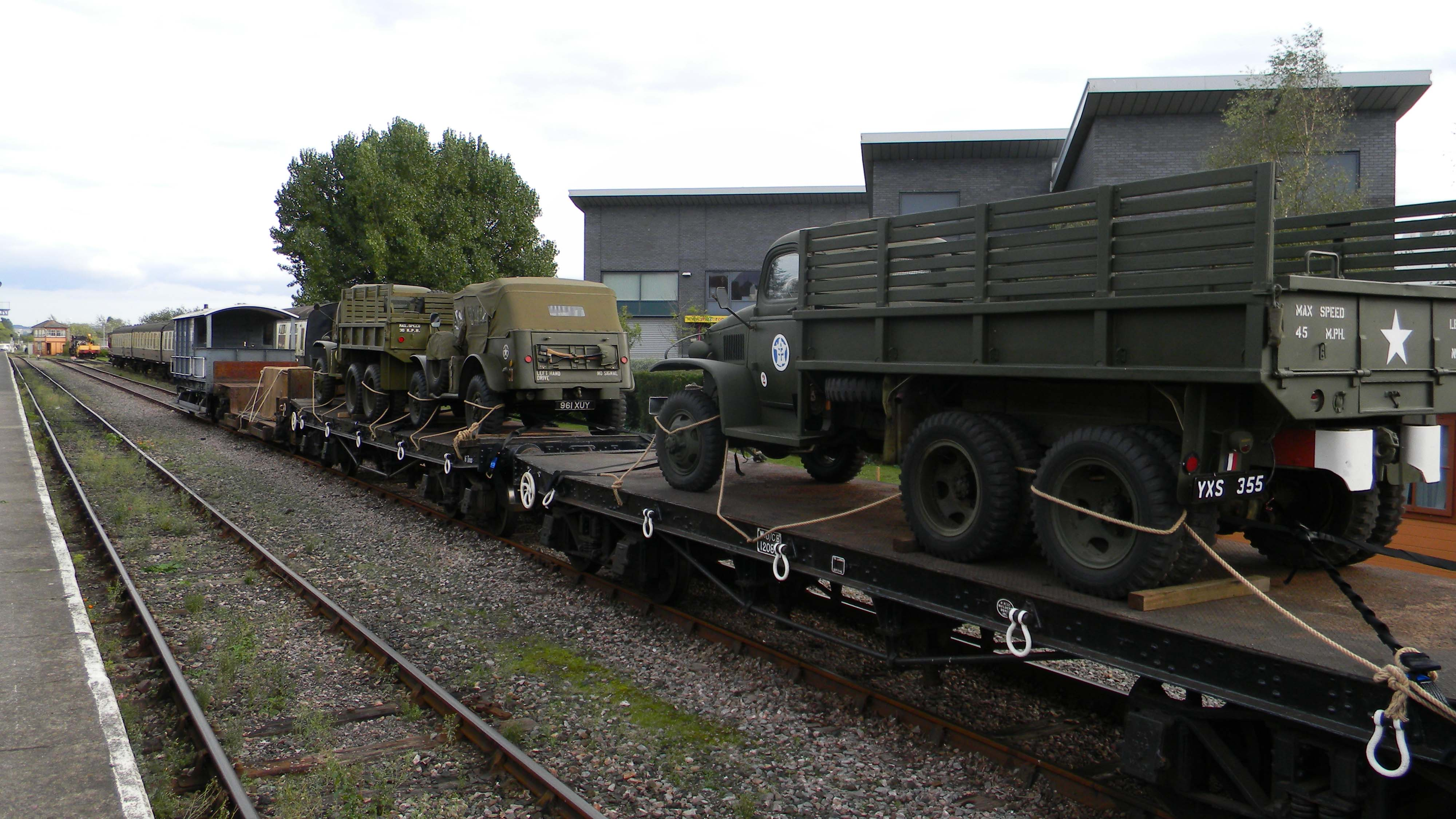 1940s-Freight-Train-Minehead-Karen-Rogers