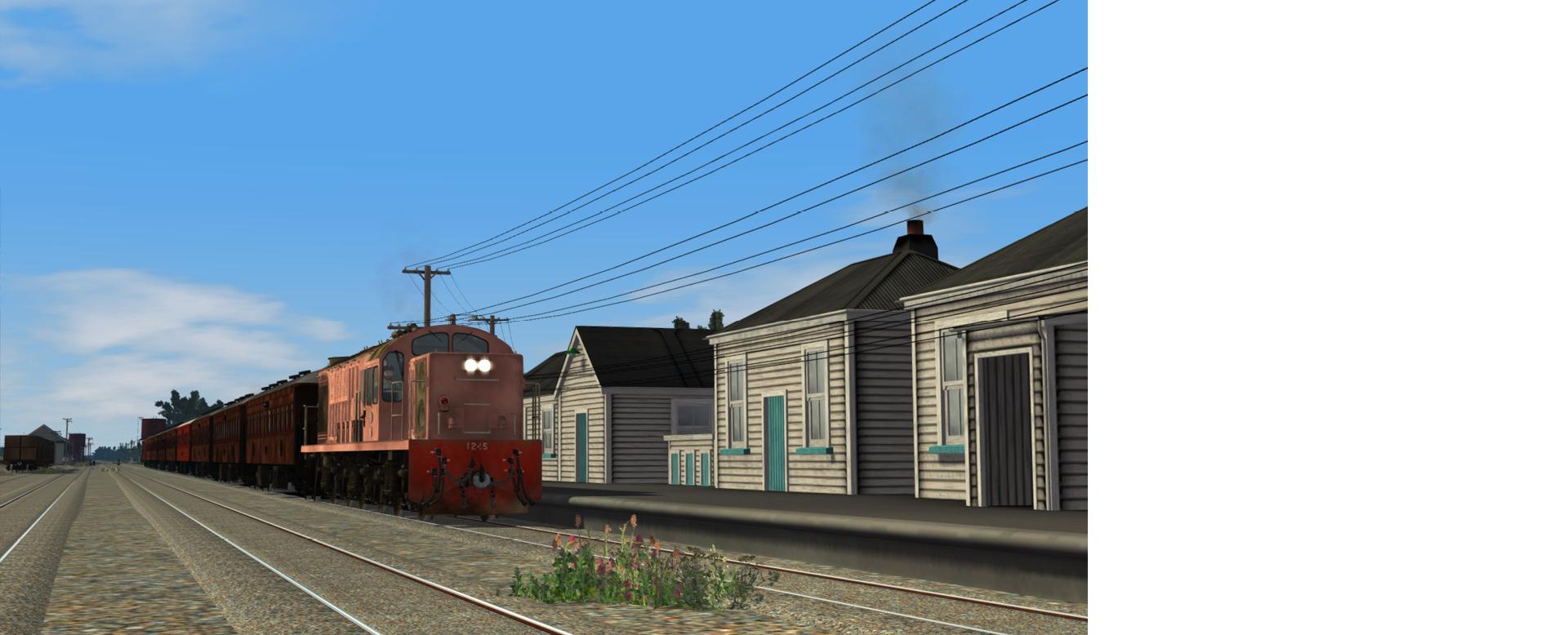 Midland Line: Aickens - Springfield