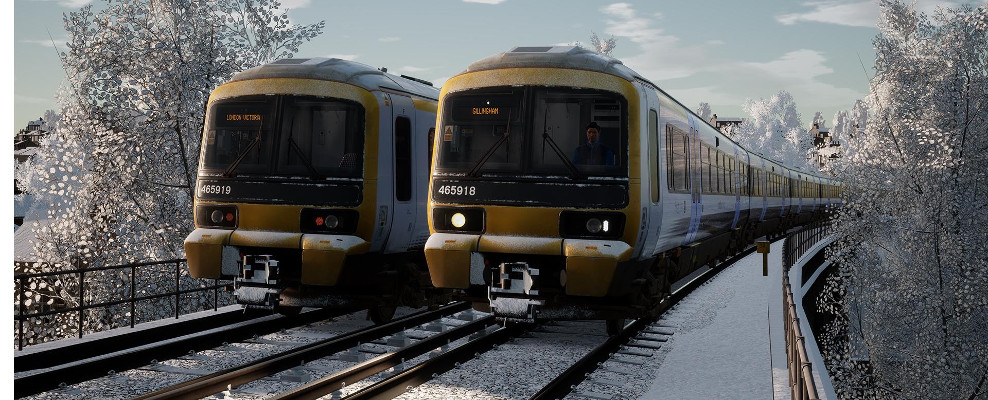 Southeastern BR Class 465 EMU