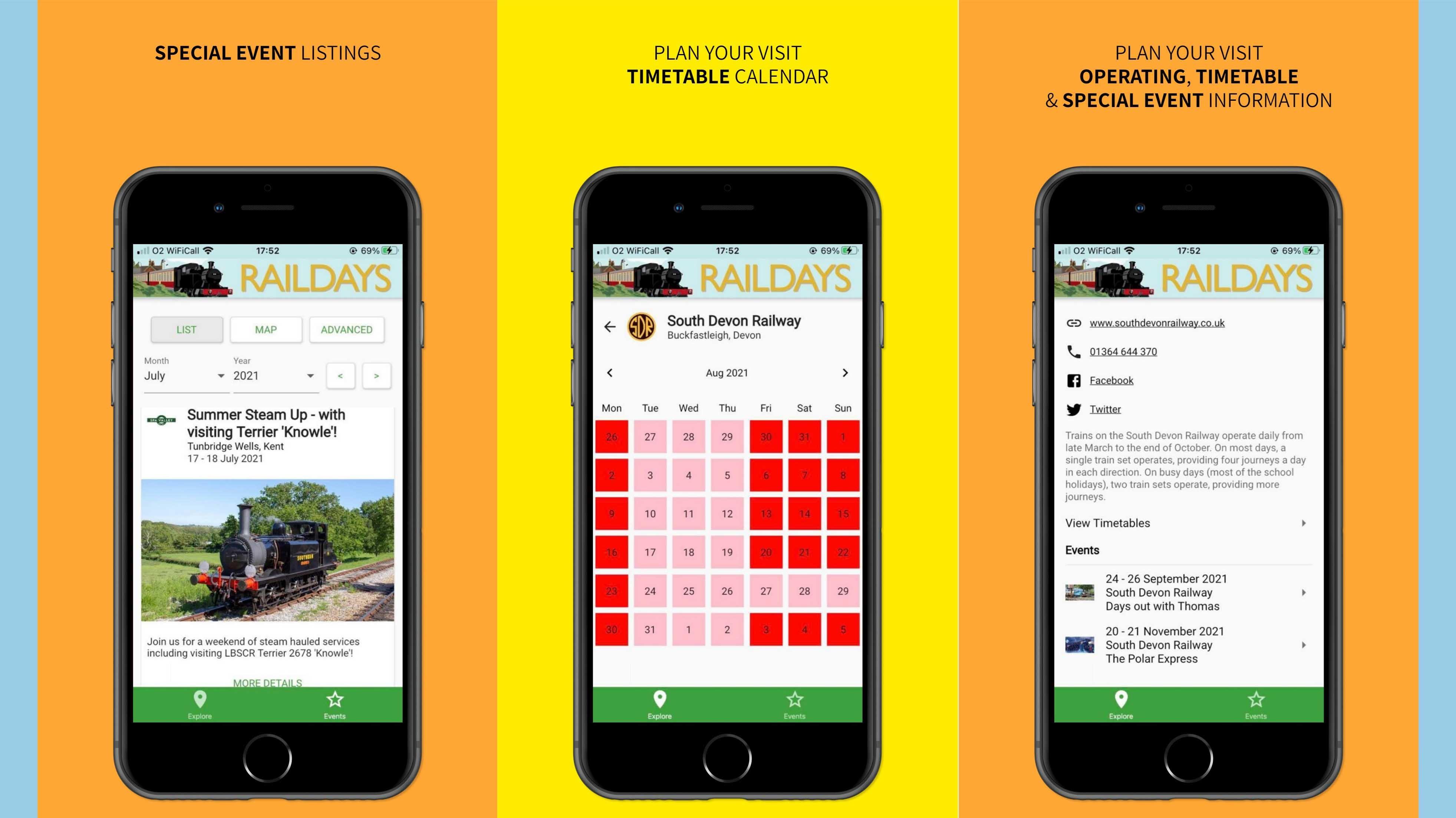 Raildays-phone-screenshot